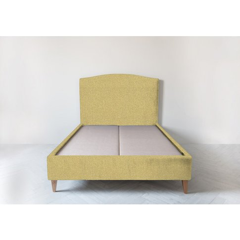 Astor 5' King Size Bed Frame In Trombone Yellow