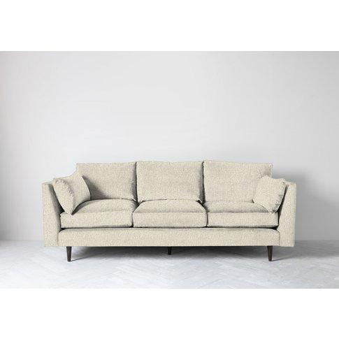 Roman Three-Seater Sofa In Abalone Beige