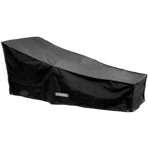 Bosmere Storm Sun Lounger Cover Black