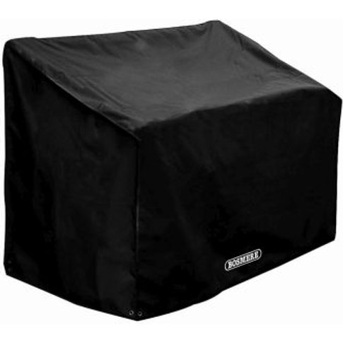 Bosmere 3 Seat Garden Bench Seat Cover Black