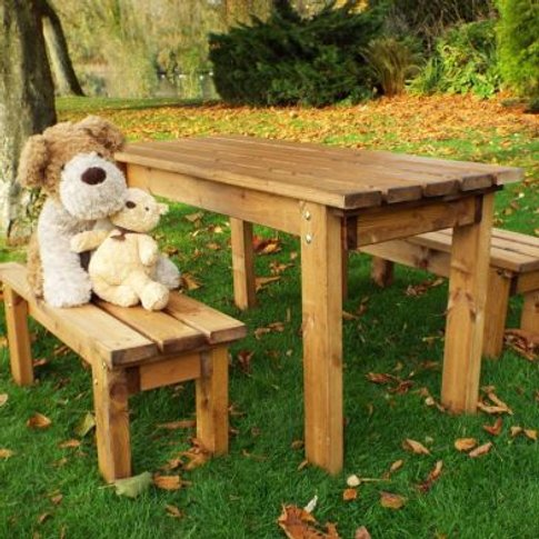 Little Fellas 4 Seat Redwood Kids ECO Garden Bench &...