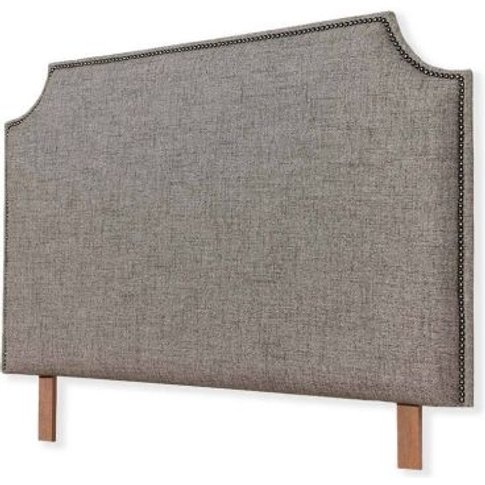 Farmhouse Headboard Grey Double