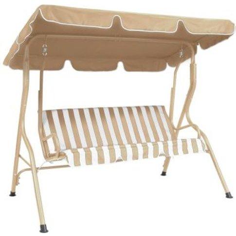 2 Seater Garden Patio Swing Seat Hammock Chair - Bei...