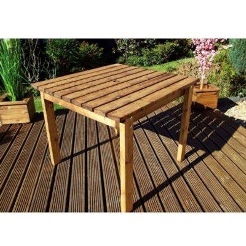 Two Seater Scandinavian Redwood Garden Table