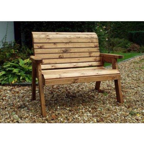 2 Seater Traditional Scandinavian Redwood Garden Bench