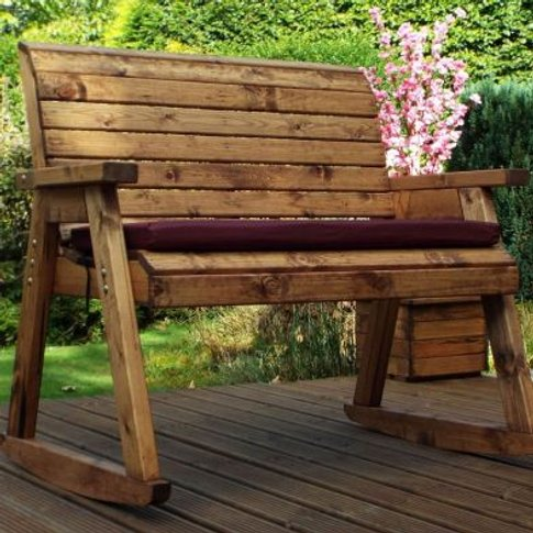 Garden Bench Rocker Scandinavian Redwood