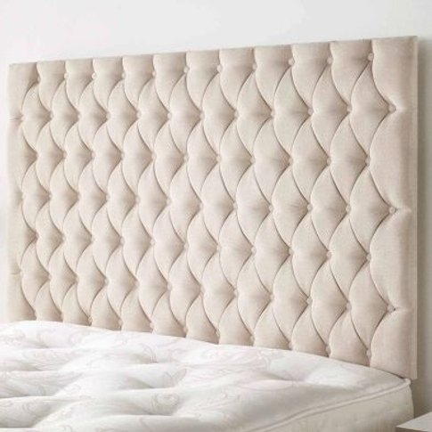 Windermere Headboard Brown Double