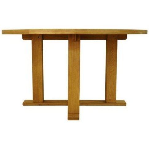 Montacute Fixed Top Dining Table Oak 4 Seater