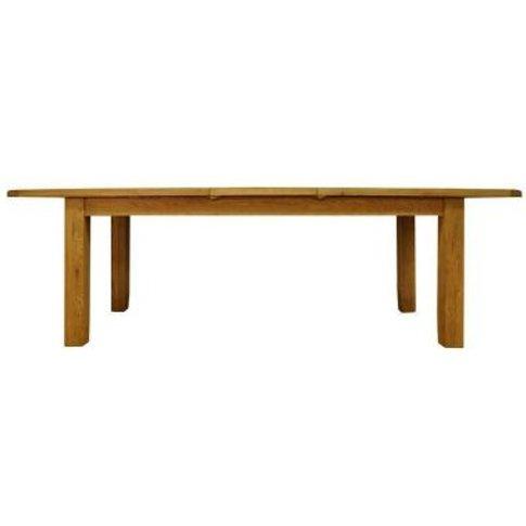 Montacute Extending Dining Table Oak 6/8 Seater