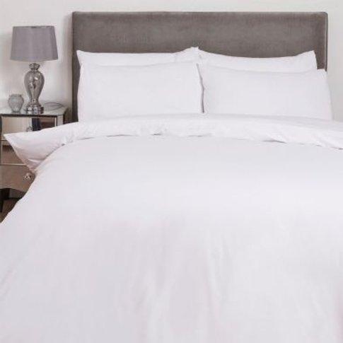 Hamilton Mcbride Single Duvet Cover White