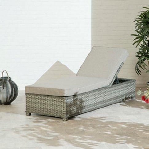 Portofino Sun Lounger - Grey