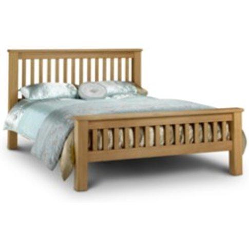 Amsterdam Oak Bed Frame - Oak / Double