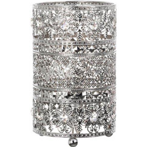 Venice Chrome Table Lamp - Silver