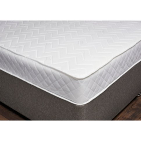Quilted Rolled Spring Mattress - Double