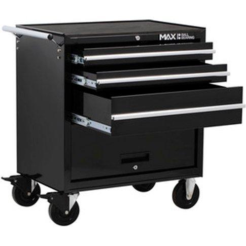Hilka Professional Rollaway Cabinet - Black / 3