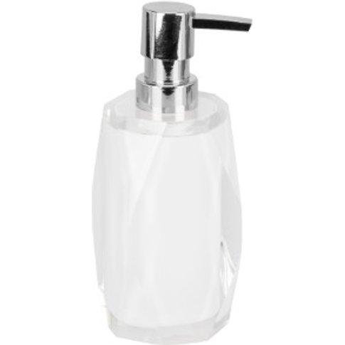 White Prism Soap Dispenser