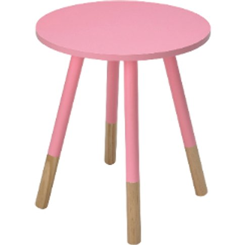 Costay Side Table - Pink