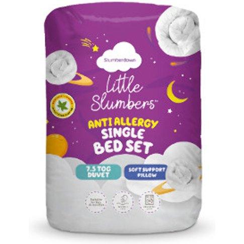 Slumberdown 7.5 Tog Kids Bed Set