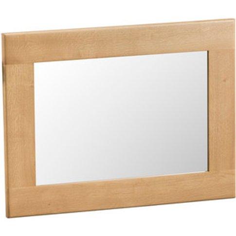 Bisbrooke Country Small Wall Mirror - Medium Oak