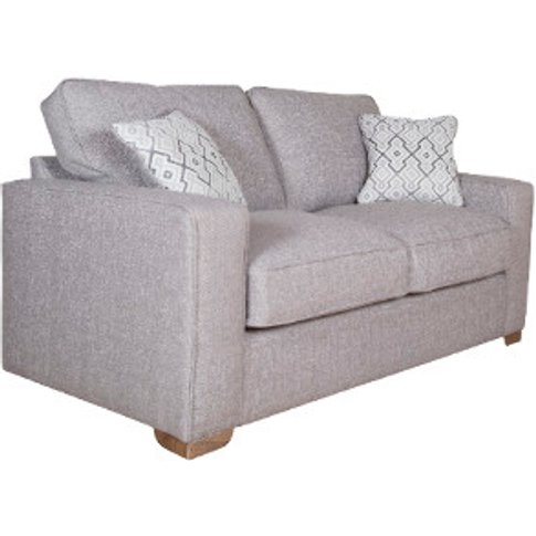 New York Two Seat Sofa - Barley Silver / Carnaby Slate