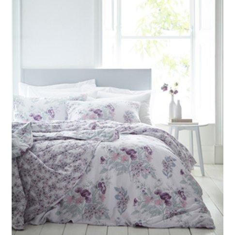 Hampton Duvet Cover And Pillowcase Set  - Pink / Sup...