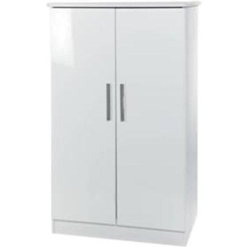 Kensington Midi Wardrobe - White