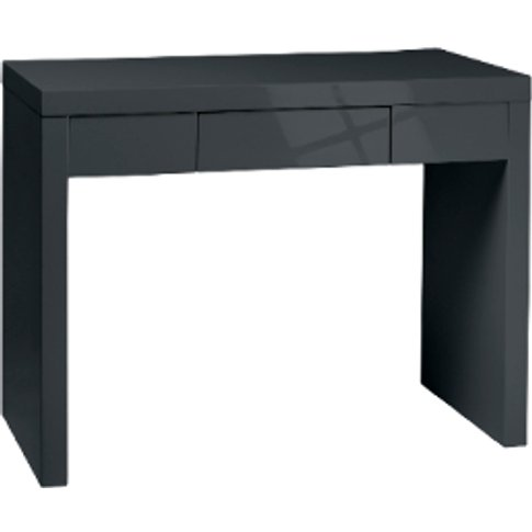 Puro Dressing Table - Charcoal