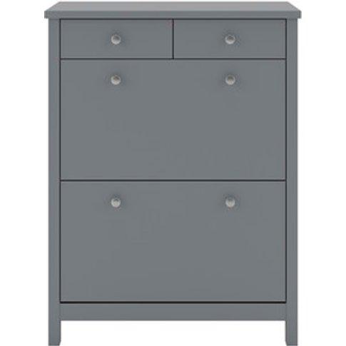 Steens Tromso Shoe Cabinet - Grey