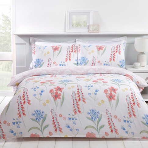 Spring Meadow Duvet And Pillow Case Set - Super King...
