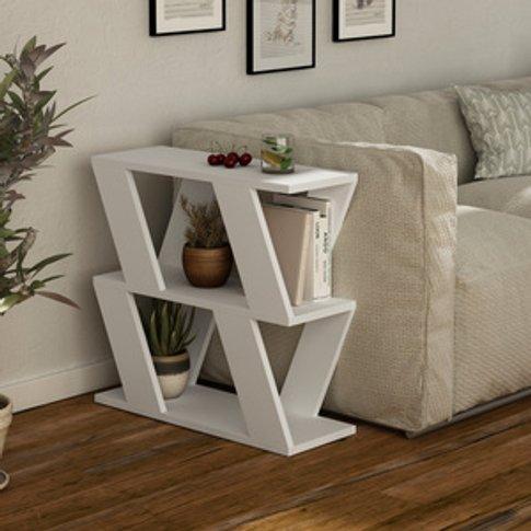 Decortie Lazena Side Table - White