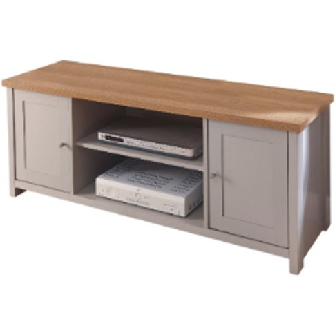 Lancaster Large TV Cabinet - Grey