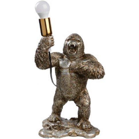 Standing Gorilla Table Lamp