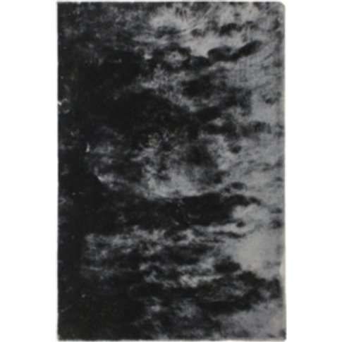 Whisper Shaggy Rug - Graphite / 200cm