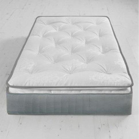 Deluxe 800 Pillow Top Pocket Mattress - Single