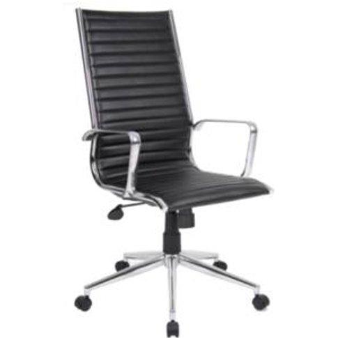 Bari High Back Office Chair - Black