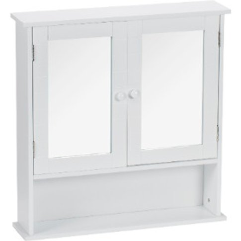 Kingston Double Mirrored Bathroom Cabinet