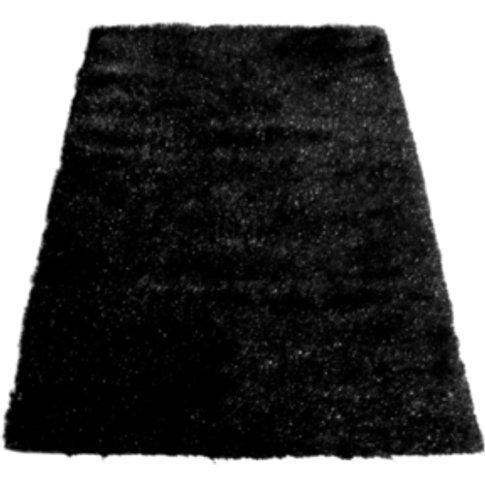 Sparkle Rug - Black