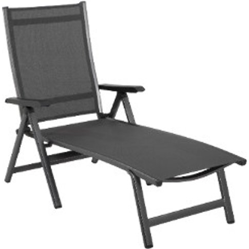 Elements Sun Lounger - Anthracite
