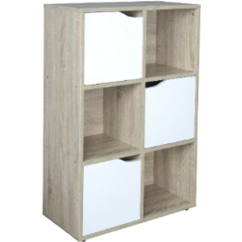 Saturn Six Hole Shelving Unit