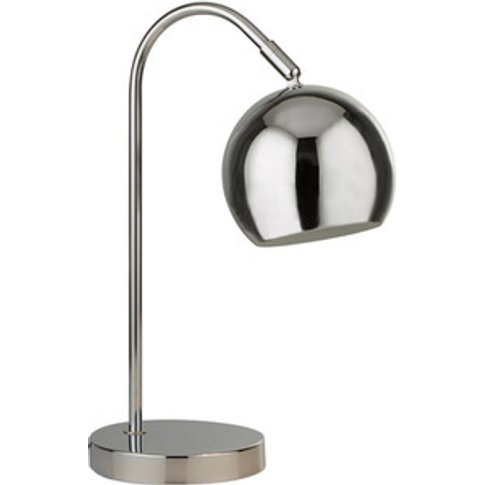 Chrome Arch Table Lamp