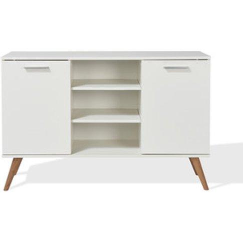 Hannu 2 Door Sideboard - Alpine White