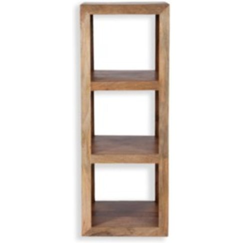 Petite Mango Cube Shelving Unit - Wood / 3