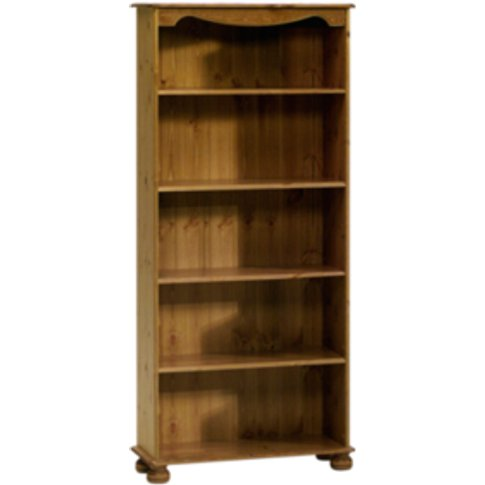 Steens Pine Bookcase - Pine