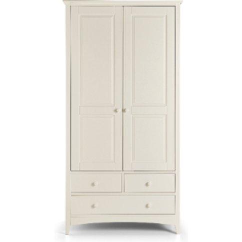 Cameo Combination Wardrobe - White