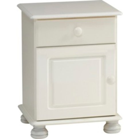 Steens Richmond Bedside Table - White