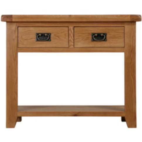 Kinsale Two Drawer Console Table