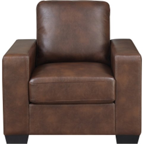 Houston Armchair - Brown