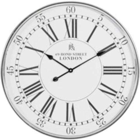 Silver London Clock  - Silver