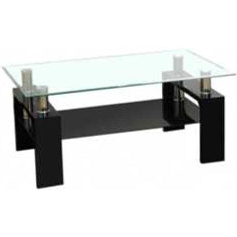Daytona Coffee Table - Black
