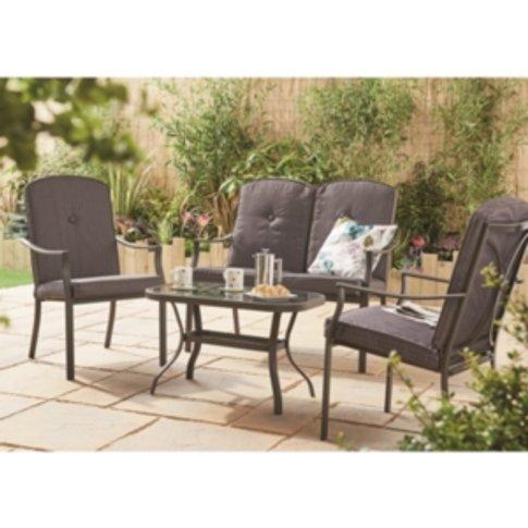 Capri Outdoor Garden Table - Black